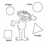 Image of Shapes Coloring Pages to Print for Kids   uan64