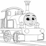 Image of Thomas And Friends Coloring Pages to Print for Kids   EhR0n