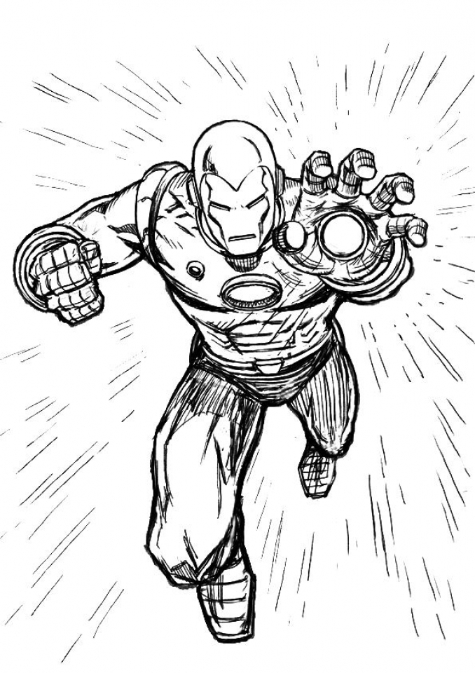 20 Free Printable Iron Man Coloring Pages EverFreeColoringcom
