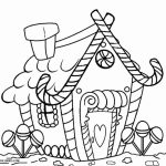 Kids' Printable Gingerbread House Coloring Pages Free Online   cIxtO
