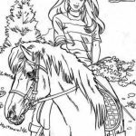 Kids' Printable Horses Coloring Pages Free Online   cIxtO