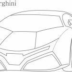 Lamborghini Coloring Pages Free Printable   66396