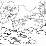 Nature Coloring Pages Printable for Kids   r1n7l