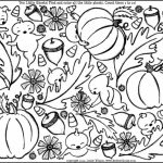 Online Autumn Coloring Pages   61800
