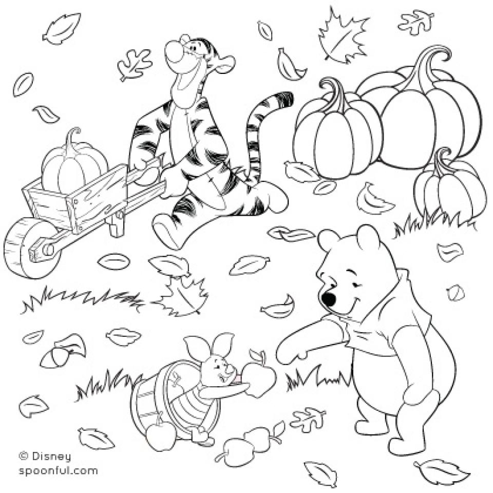 Online Autumn Coloring Pages   78742