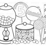 Online Candy Coloring Pages to Print   swsyq