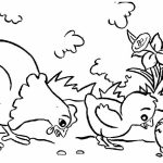 Online Farm Animal Coloring Pages for Kids   sz5em