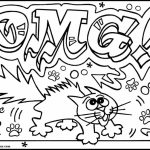 Online Graffiti Coloring Pages   13228