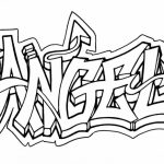 Online Graffiti Coloring Pages   88361
