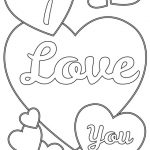 Online I Love You Coloring Pages for Kids   sz5em