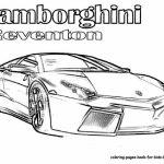 Online Lamborghini Coloring Pages   88275
