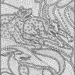 Online Mosaic Coloring Pages   83723