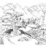 Online Nature Coloring Pages for Kids   sz5em