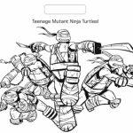 Online Ninja Turtle Coloring Page   13228
