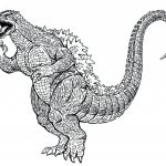 Online Printable Godzilla Coloring Pages   4z5CB