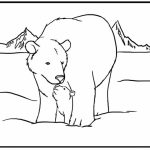 Online Printable Polar Bear Coloring Pages   rczoz