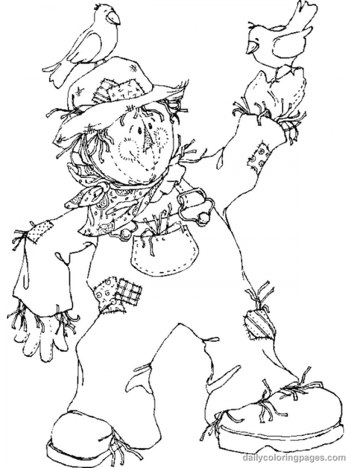 lion king coloring pages scarecrow - photo#11