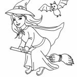 Online Witch Coloring Pages to Print   aycRt