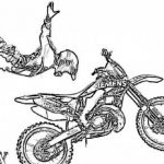 Picture of Dirt Bike Coloring Pages Free for Children   upmly