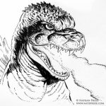 Preschool Godzilla Coloring Pages to Print   Drx0J