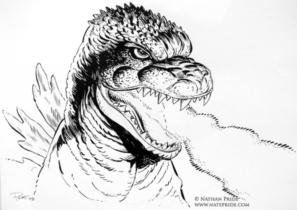 get this preschool godzilla coloring pages to print drx0j