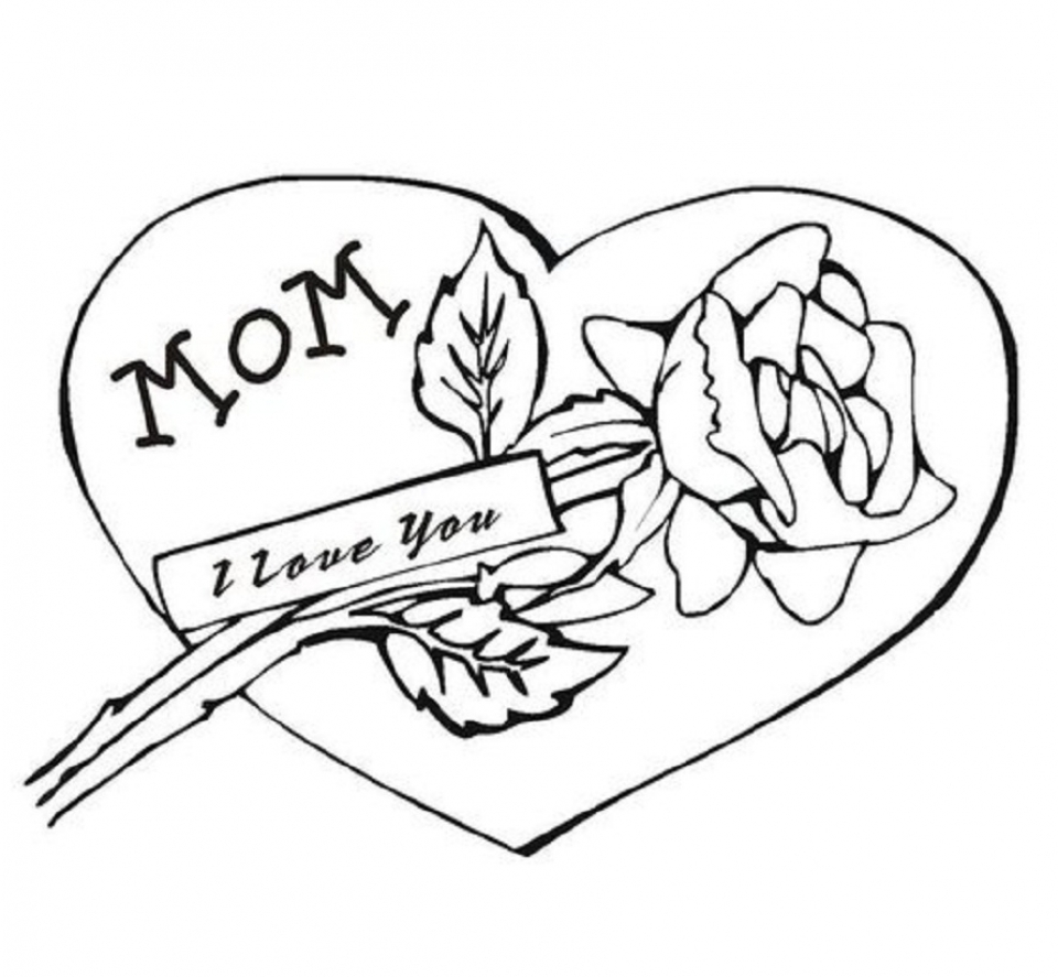 Preschool I Love You Coloring Pages to Print   nob6i