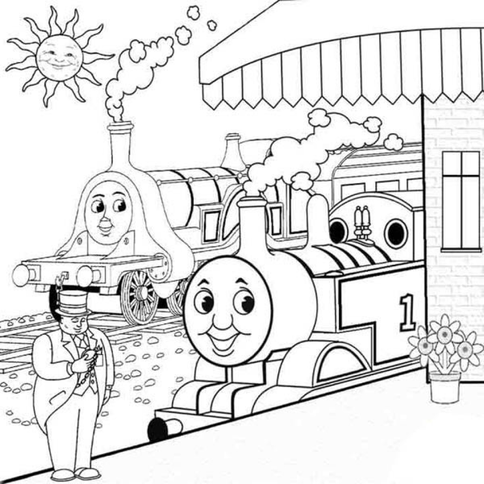 Stunning Thomas And Friends Coloring Pages Gallery New Printable