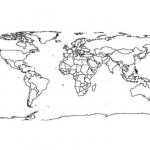 Preschool Printables of World Map Coloring Pages Free   b3hca