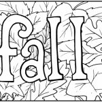 Printable Autumn Coloring Pages   73400