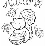 Printable Autumn Coloring Pages Online   85256