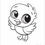 Printable Baby Animal Coloring Pages Online   85256