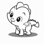 Printable Baby Animal Coloring Pages Online   91060