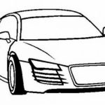 Printable Car Coloring Page   70550