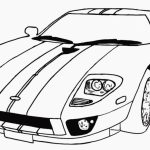 Printable Car Coloring Page Online   21065