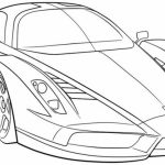 Printable Car Coloring Page Online   34394