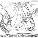 Printable Circus Coloring Pages   63679
