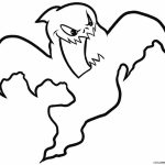 Printable Ghost Coloring Pages   87141
