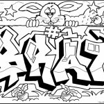 Printable Graffiti Coloring Pages   78757