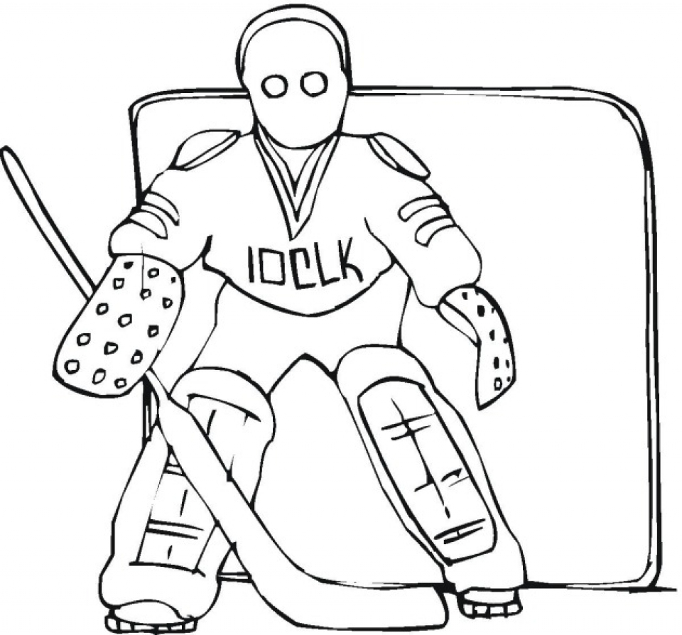 coloring pages hockey - get this printable hockey coloring pages online 59307