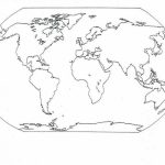 Printable Image of World Map Coloring Pages   t2o1m