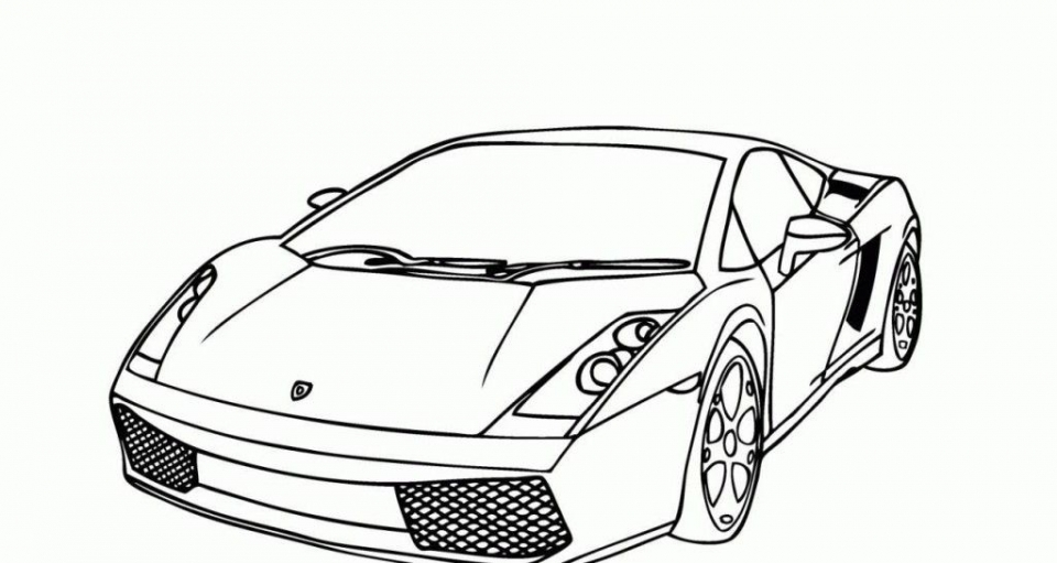 Get This Printable Lamborghini Coloring Pages 63679