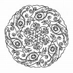 Printable Mandala Coloring Pages For Adults   87126