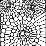 Printable Mosaic Coloring Pages   78757
