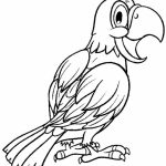 Printable Parrot Coloring Pages Online   51321