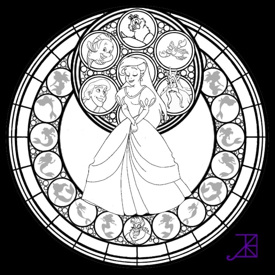 stained glass window coloring page - get this printable stained glass coloring pages 64912