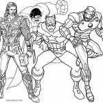 Printable Thor Coloring Pages Online   64038