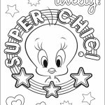 Printable Tweety Bird Coloring Pages   87141