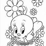 Printable Tweety Bird Coloring Pages Online   59307