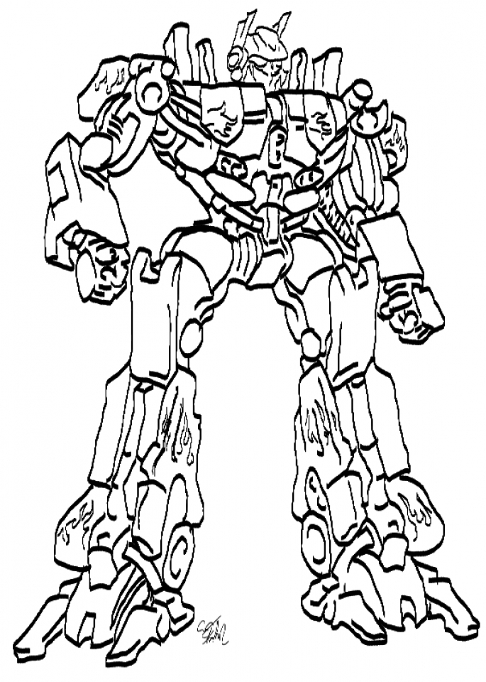 Printables for Toddlers   Optimus Prime Coloring Page Online Free   m7pzl