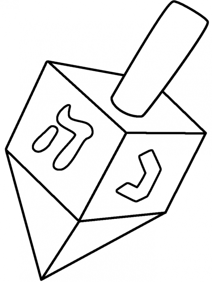 Get This Simple Hanukkah Coloring Pages to Print for ...